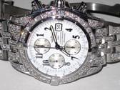 Mens Breitling Chronomat Evolution Diamond Watch - MBRT58