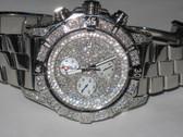 Mens Breitling Super Avenger Diamond Watch - MBRT63
