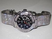 Mens Hublot Big Bang Chronograph Diamond Watch - MHUB02