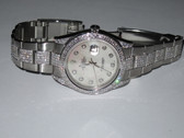 Mens Rolex Datejust II Oyster Perpetual Diamond Watch - MRLX08
