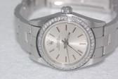 Womens Rolex Datejust Oyster Perpetual Diamond Watch - WRLX01