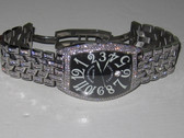 Mens Franck Muller Casablanca Diamond Watch With Date