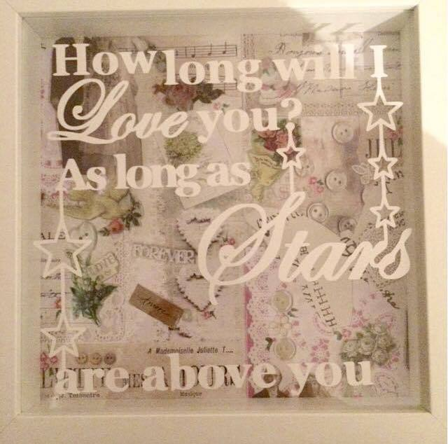 How Long Will I Love You Frame