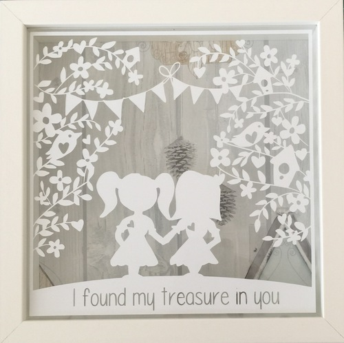 I Found My Treasure In You Frame