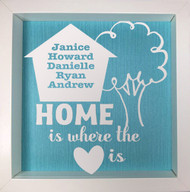 Home Is The Heart Frame
