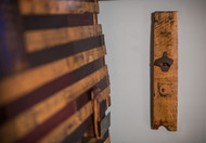 Barrel Stave Bottle Opener - Wall-Mount