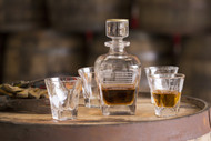 Decanter and Rocks Glasses