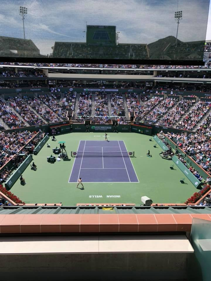 The view was 20/20 from the Jeffrey Scott suite as 20-year old Naomi Osaka and 20-year old Daria Kasatkina faced off in the WTA Finals.
