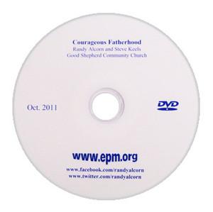 Courageous Fatherhood Message DVD