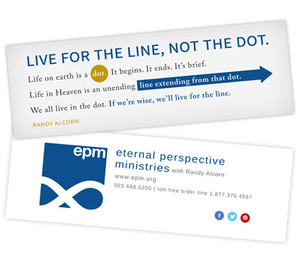 Live for the Line Bookmarks (20-pack)