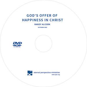 Randy Alcorn Speaking on Happiness (DVD)
