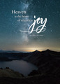 Greeting Card – Heaven, Home of Relentless Joy