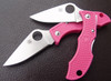 Spyderco LPNP3 Ladybug 3 - FFG VG-10 Blade - Pink Handle - CUTLERY SHOPPE EXCLUSIVE