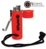 Trekker Stormproof Lighter - Blaze Orange - Over 1,000 ignitions on a single fill