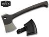 """Buck Knives 0757BKM Camp Axe – 3"""" Axe Head – High Impact Nylon Handle - Nylon Sheath"""