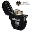 Delta Shockproof - Stormproof Lighter - Matte Black