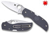 "Spyderco C152PGY Chaparral  2.80"" CTS-XHP Blade C152PGY Cutlery Shoppe"