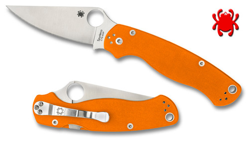 Spyderco C81GPOR2 PARA-MILITARY 2 - CUTLERY SHOPPE EXCLUSIVE - CTS-XHP Blade - SOLD OUT