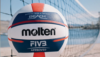 New FIVB Approved Elite Beach Volleyball