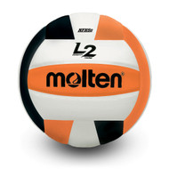 L2 Volleyball- Black/Orange
