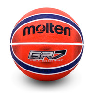 BGRX Premium Rubber Basketball - Red/Blue