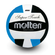 Super Touch® Volleyball- Black/Blue