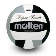 Super Touch® Volleyball- Black/ Silver