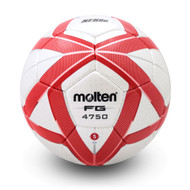 F5G4750 Elite Soccer Ball (NFHS Approved) - Silver/Red