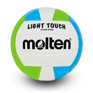 Light Touch Volleyball- Green/Blue