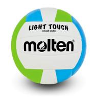Light Touch Volleyball- Green/Blue
