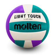Light Touch Volleyball- Violet/Aqua