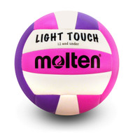 Light Touch Volleyball- Violet/Pink