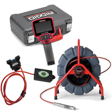 Ridgid 48488 Mini Self Leveling Camera, 37888 CA-300, & CustomEyes Adaptor Box CE-300