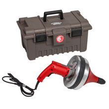 Spartan Tool Model 700 Drain Cleaning Machine with Tool Box 02755309
