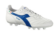 Diadora Brasil Italy OG MD PU White/Blue *Italian Handmade* Ships With Free Backpack.