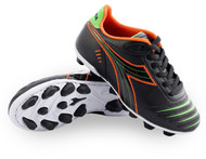 Diadora Cattura MD JR - Black / Orange / Lime