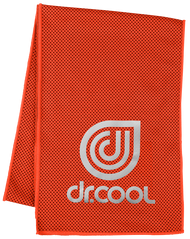 Dr. Cool Chill Sport Cooling Towel -  Mandarin Red *Free Shipping*