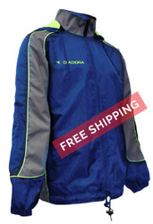 Diadora Coprire Rain Jacket - Royal