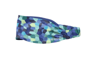 Dr. Cool Studio Women's Headband - Pixel Ocean Blue *Free Shipping* A Virtual Soccer Exclusive