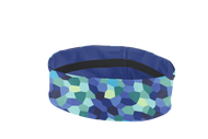 "Dr.Cool 2"" Reversible Headband - Pixel Ocean Blue *Free Shipping* Exclusively at Virtual Soccer"