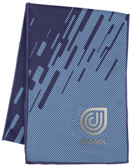 Dr. Cool Chill Sport Cooling Towel - Digi Splash Blue*Free Shipping* A Virtual Soccer Exclusive!