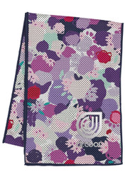 Dr. Cool Chill Sport Cooling Towel - Gestured Floral  *Free Shipping*