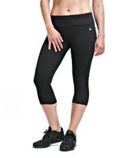 Coolcore Women's Cooling 'Motivate' Running Capri - Black *Free Shipping*