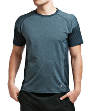 Coolcore Men's 'Crush It' Short Sleeve Cooling Tee - Modern Navy *Free Shipping*