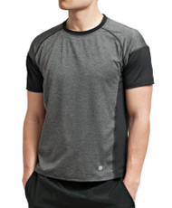 Coolcore Men's 'Crush It' Short Sleeve Cooling Tee - Black *Free Shipping*