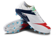 Diadora MW BLUSHIELD RB BSH12 Firm Ground Soccer Shoe - White / Blue / Red *Free Shipping*
