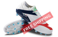 Diadora MW BLUSHIELD RB BSH12 Firm Ground Soccer Shoe - White / Blue / Red
