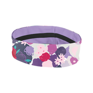 "Coolcore 2"" Reversible Headband - Gestured Floral *Free Shipping*"