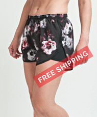 Coolcore Women's 'Strider' Cooling Short - Floral Print