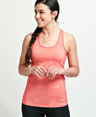 Coolcore Women's 'Racer' Cooling Tank Tee Shirt - Coral Red *Free Shipping*